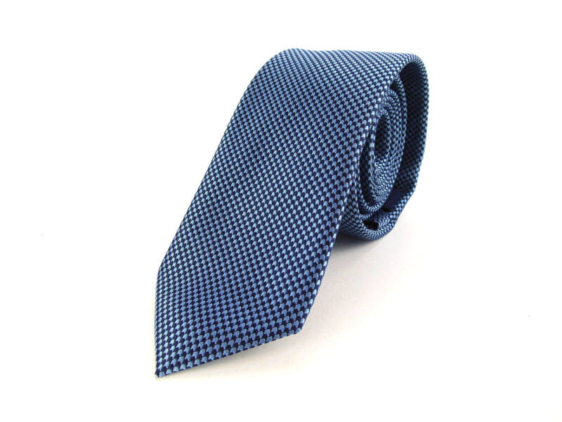 Slim Nyakkendő aprómintás - kék | 2006-3