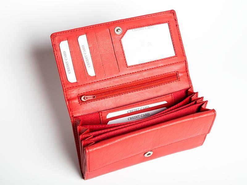 Lupo női pénztárca - piros   37
