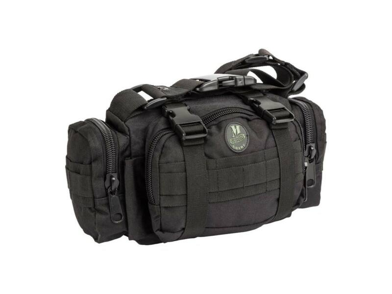 M-Tramp B21 military övtáska - fekete   545