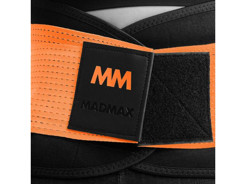 MadMax neoprén izzasztó öv fitnesz edzéshez - narancs | 277