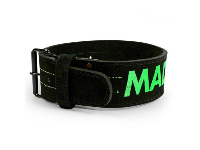 """MadMax erőemelő öv 4"""" 10mm - 100% bőr   301"""