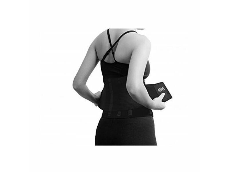 MadMax neoprén izzasztó öv fitnesz edzéshez - uniszex fekete | 277