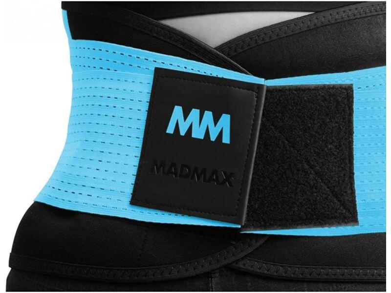 MadMax neoprén izzasztó öv fitnesz edzéshez - uniszex kék | 277