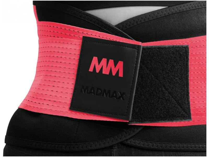 MadMax neoprén izzasztó öv fitnesz edzéshez - piros | 277