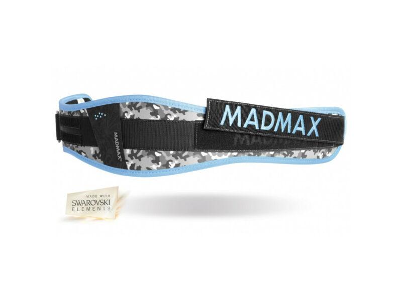 MadMax tépőzáras női edző öv - kék   314