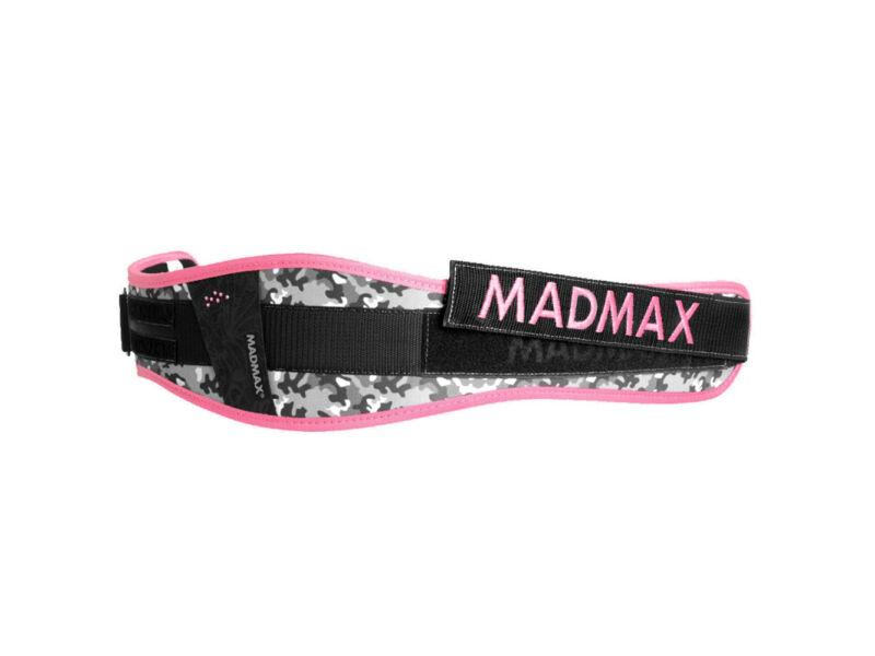 MadMax tépőzáras női edző öv - rózsaszín   314