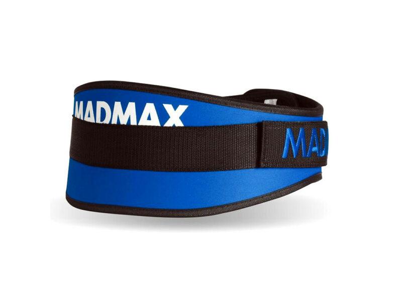MadMax tépőzáras edző öv - kék   421