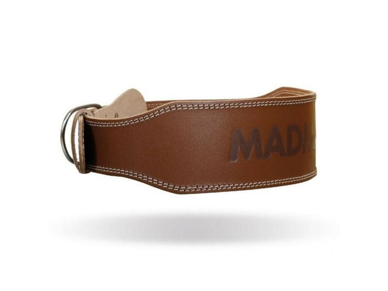 MadMax súlyemelő öv - barna 100% bőr | 246