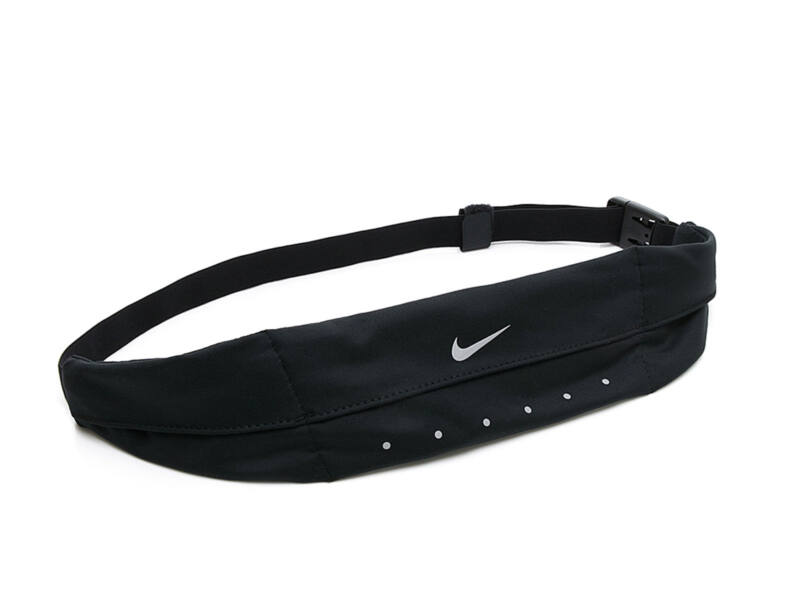 Nike rugalmas uniszex futóöv - fekete | 2364