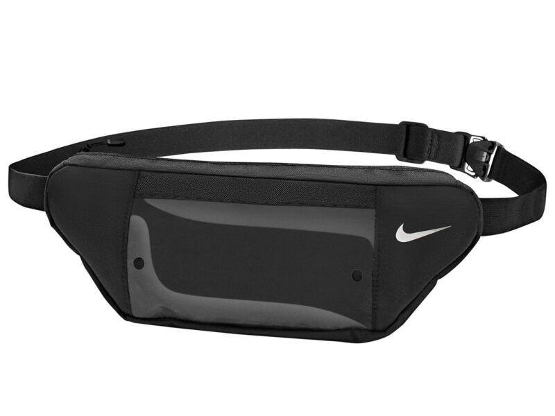 Nike futó övtáska átlátszó telefontartóval - fekete   2650