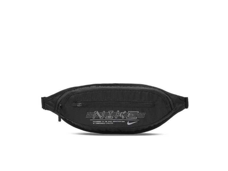 Nike futó övtáska  - feliratos fekete | 0825