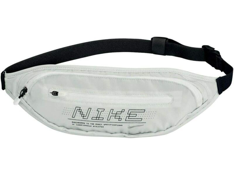 Nike futó övtáska  - feliratos fehér | 0825