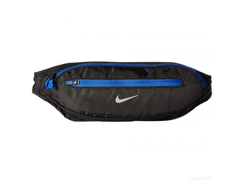 Nike övtáska futáshoz - fekete kék | 1365