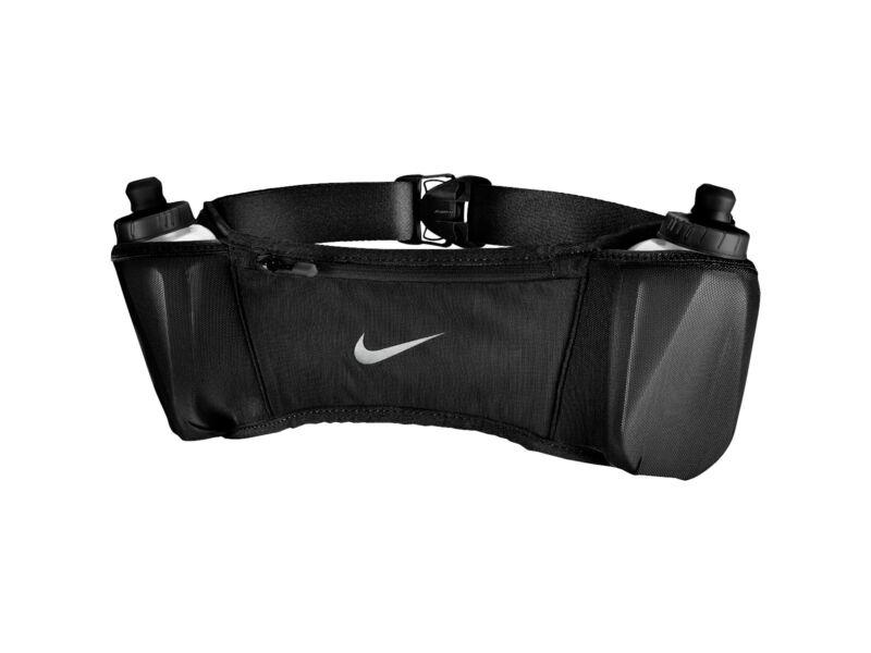 Nike futóöv kulaccsal 2x300ml - fekete | 1404