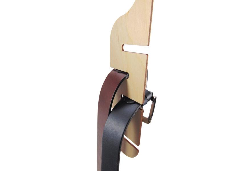 Övtartó & Nyakkendőtartó szekrénybe - natúr | B01 - (Ajándék)