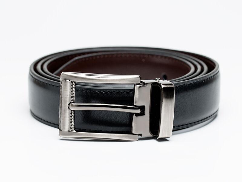Férfi ajándék ötlet - Fa csokornyakkendő & öltöny öv csomagban | ZS006-R006