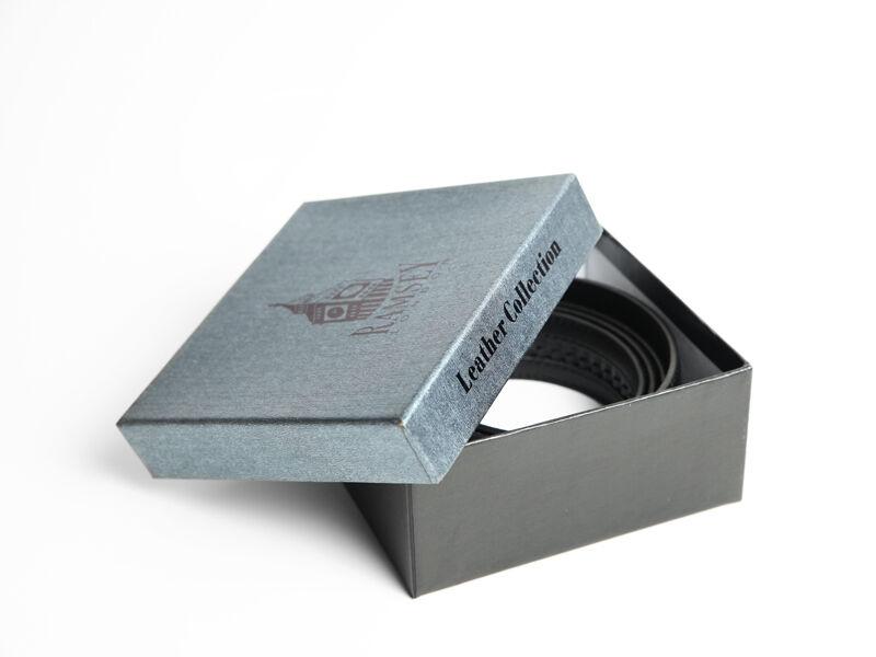 Ajándék férfiaknak - Fa csokornyakkendő & öltöny öv szettben | ZS004-R006