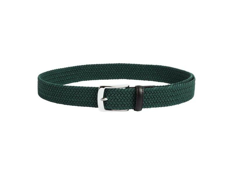 Fonott gumis öv - zöld | 786-788