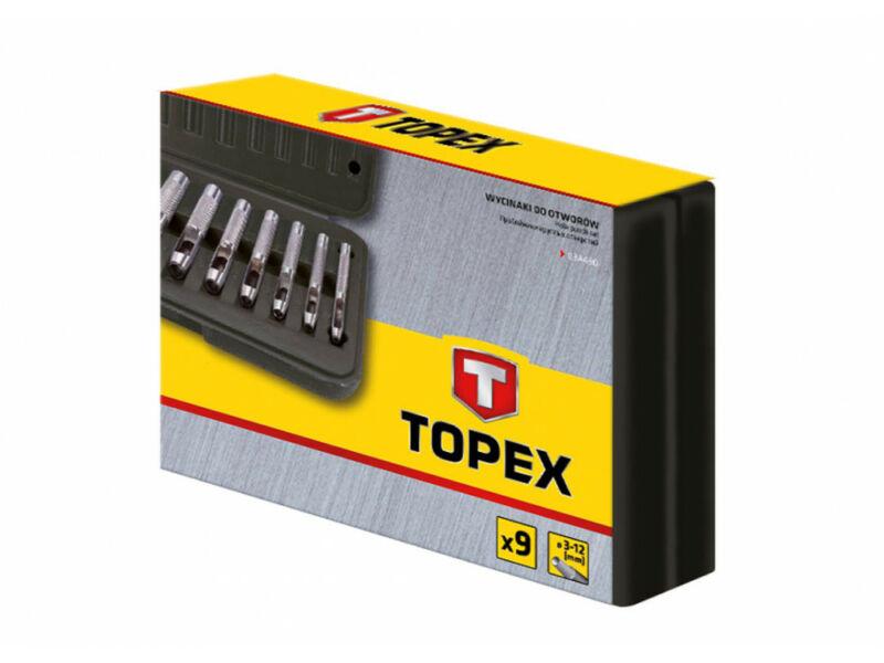 Topex Bőrlyukasztó készlet