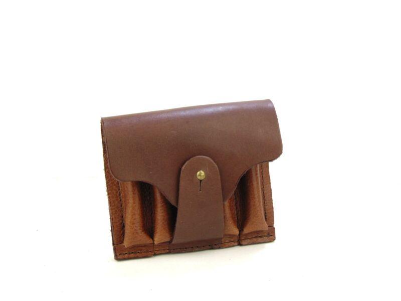 Vadász Ajándékok: 5db-os tölténytartó bőr övvel - barna | HCU24-335