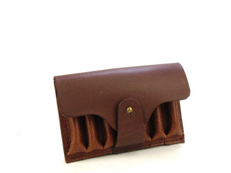 Vadász Ajándékok: 7db-os tölténytartó bőr övvel - barna   HCU24-337