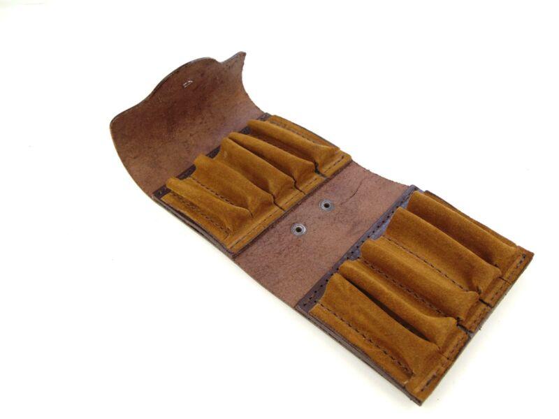 Vadász Ajándékok: 10db-os tölténytartó bőr övvel - barna | HCU24-39