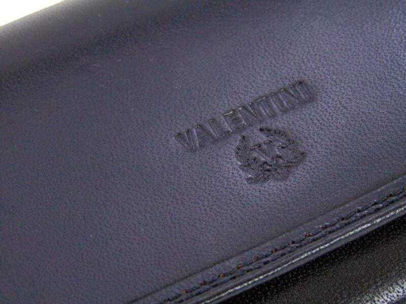 Valentini fekete bőr brifkó | 5563-PL11