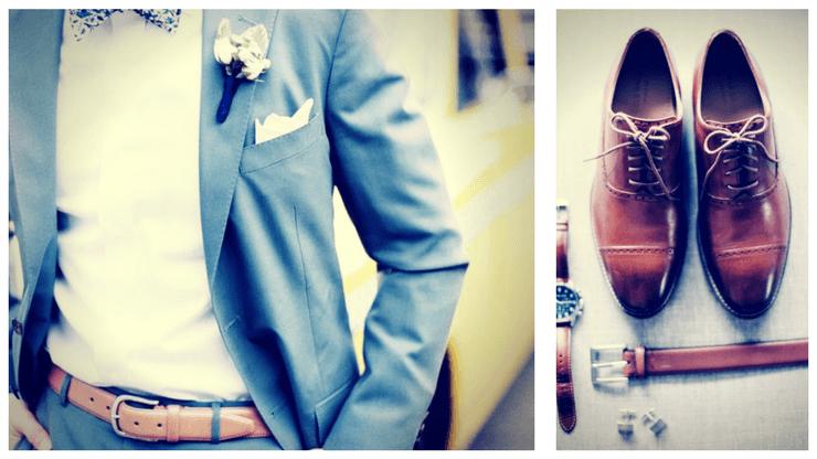 öltöny öv esküvőre